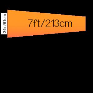 7ft (84 inch) / 182 cm