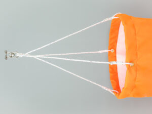 windsock with rope harness